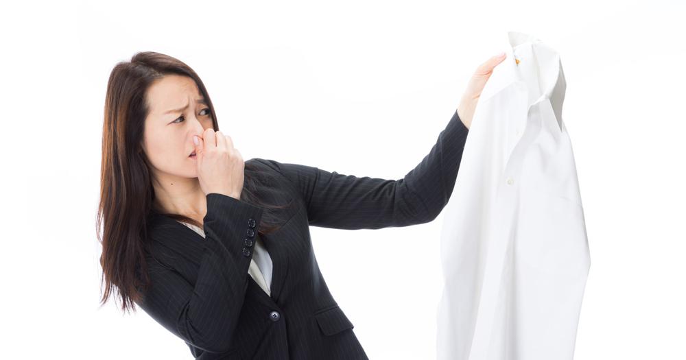 衣服臭味洗不掉